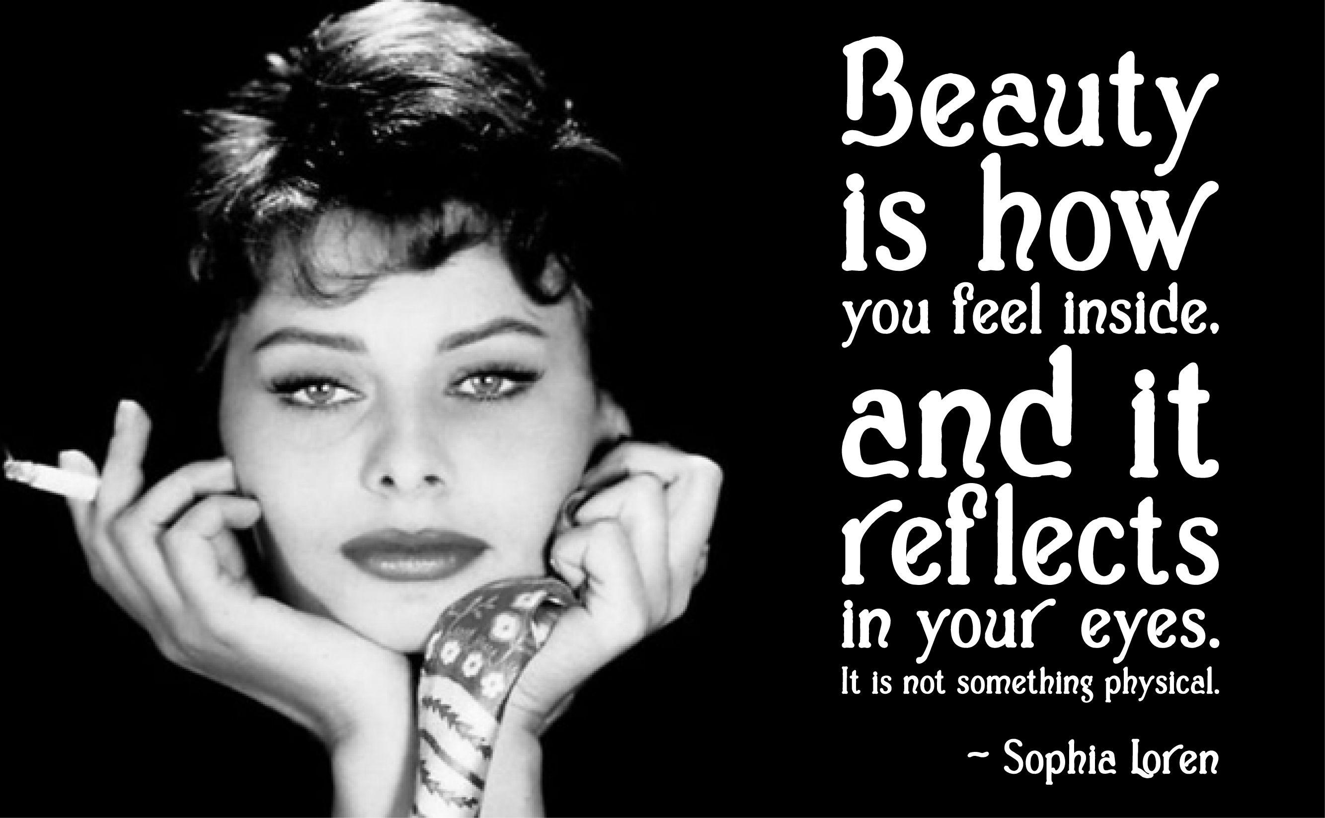 Beauty Reflects   Sophia LorenSophia Loren Quotes About Mothers